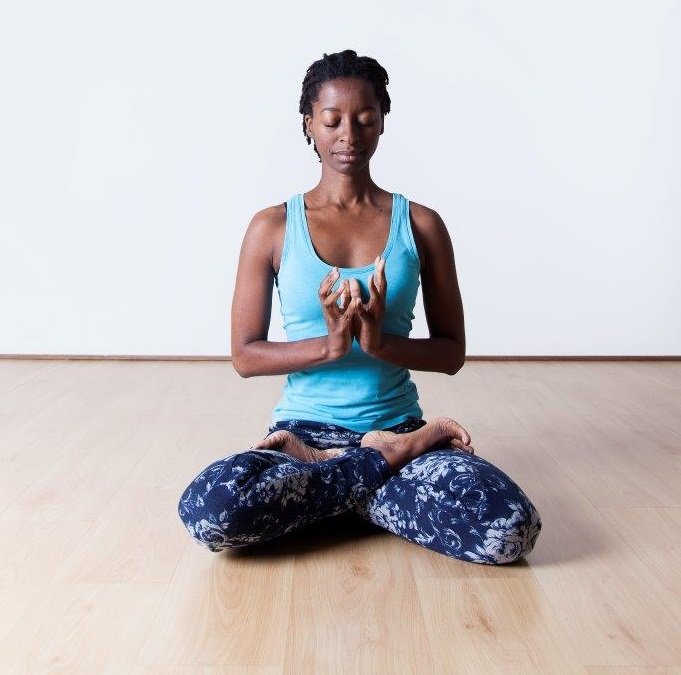 Yoga teacher Phumla Shongwe.