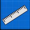 Ruler Blueprint - Cm & Inches