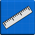 Lineal Blueprint - Cm & Zoll icon