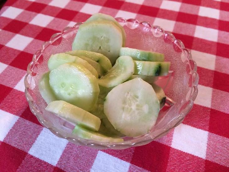 Creamy Cucumber Salad Recipe