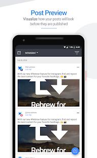 App Statusbrew: Schedule Posts for Twitter & Facebook APK for Windows Phone