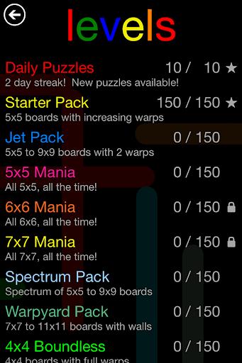 Flow Free: Warps screenshot 13
