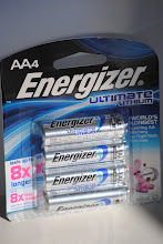 Photo: More Energizer batteries, the lithium ones will last awhile!