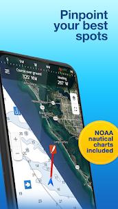 Fishing Points: GPS, Tides & Fishing Forecast 3