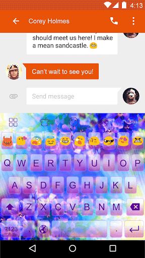 Gorgeous Kitty -Emoji Keyboard