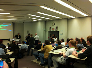 Photo: The opening session with the bagpiper surprise.