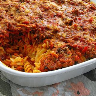 Italian Pasta Casserole with Zucchini