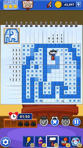 The Magic Brush - Picture Cross & Nonogram Puzzle  screenshots 1