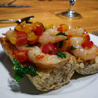 Shrimp Bruschetta Salad