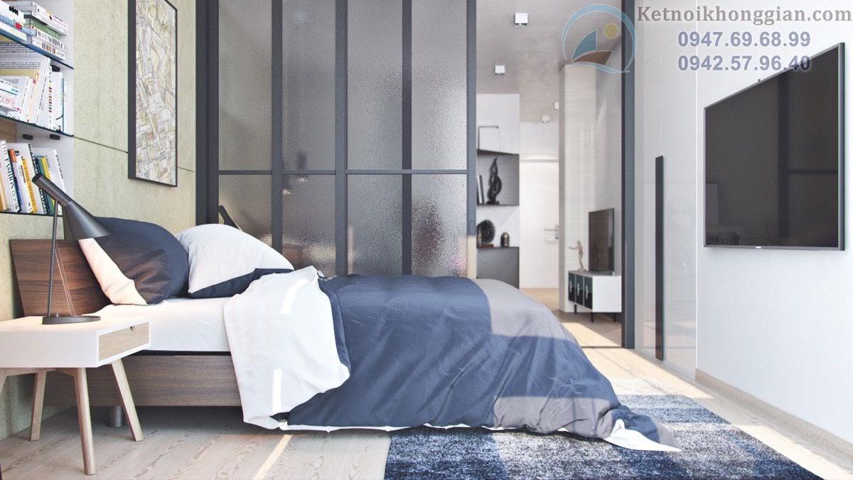 thiết kế phòng ngủ căn hộ diện tích nhỏ