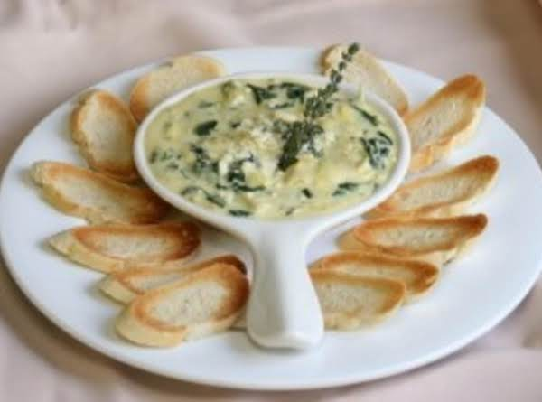 Copy cat olive garden artichoke spinach dip recipe just - Spinach artichoke dip olive garden ...