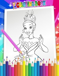 How To Color Disney Princess - Coloring Pages APK screenshot thumbnail 7