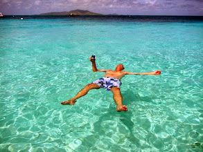 Photo: Rene's enjoying Palm Island
