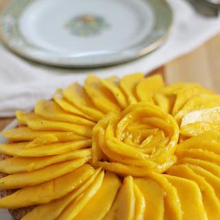 Citrus Olive Oil Mango Cake