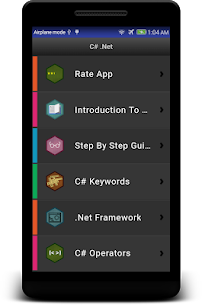 Learn C# – .Net – C Sharp Programming Tutorial App Latest Version Download For Android 1