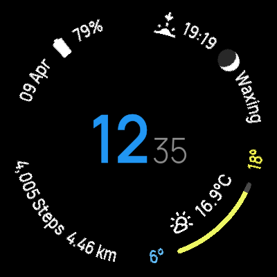 Essence: Watchface for Wear OS screenshot 4