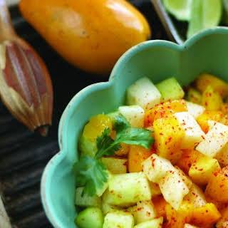 Mango, Jicama & Cucumber Salad.