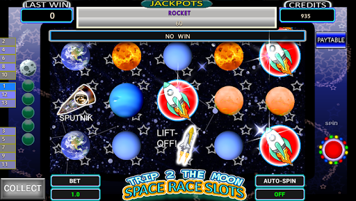 Moon Space Exploration Slots
