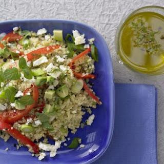 Bulgur and Avocado Salad