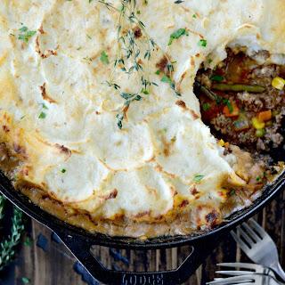 Simple Skillet Shepherd's Pie.
