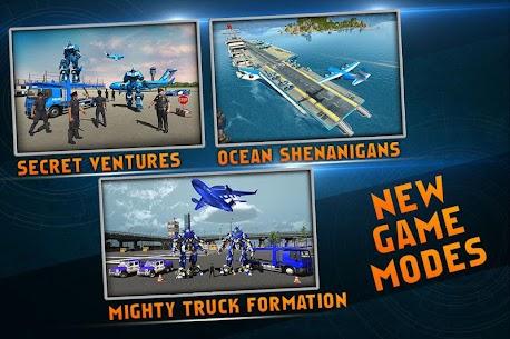 US Police Robot Car Game – Police Plane Transport 1