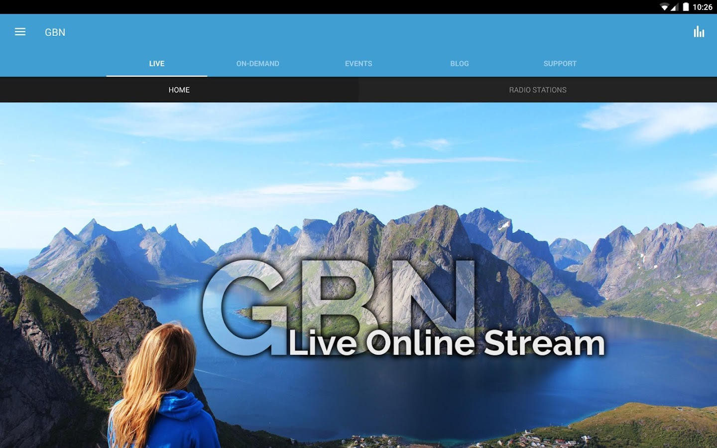 Gospel Broadcasting Network- screenshot