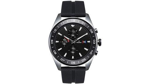 The LG Watch W7 smartwatch.