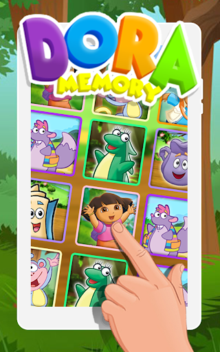 Memory Kids Dora Girls 1.1 screenshots 3