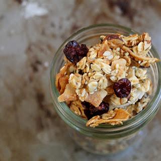 Medium-Big Cluster Maple Granola - gluten free & dairy free