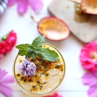 Passion Fruit Cocktail + 20 Passion Fruit Recipes.