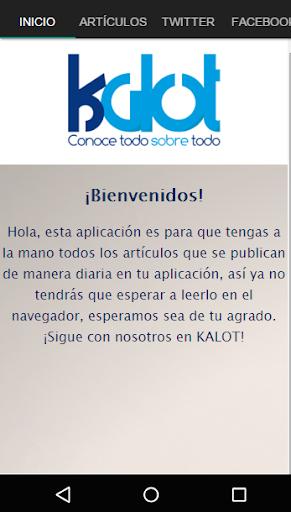 Kalot Blog