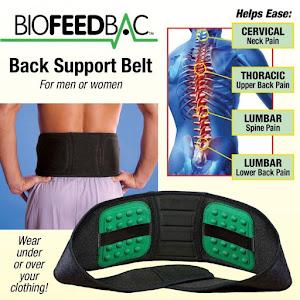 Centura pentru spate reglabila, suport lombar, BIOFEEDBAC