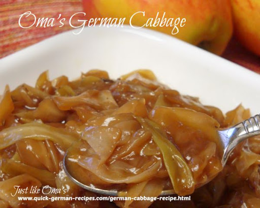 Oma's German Cabbage