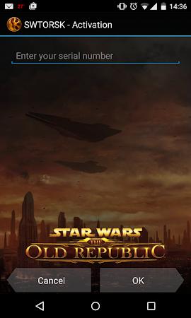 The Old Republic Security Key 1.0.1 screenshot 54941