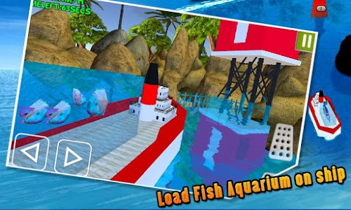 Transporter Ship Shark Aquarum screenshot 4