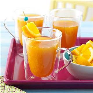 Peachy Spiced Cider.