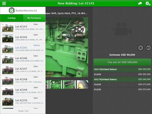 Booker Auction Company 2.0.1 screenshots 8