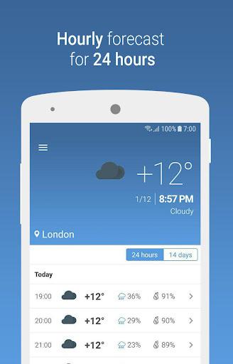 MeteoScope - Accurate forecast screenshot 1