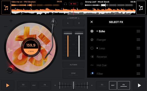 edjing Mix: DJ music mixer 6.5.2 screenshots 14