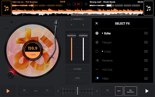 edjing Mix DJ Musik Mixer Screenshot