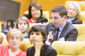Photo: Lors d'une session de questions-réponses- Photo Olivier Ezratty