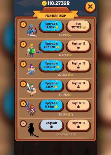 Télécharger EvoHero - Idle Gladiators apk mod screenshots 3