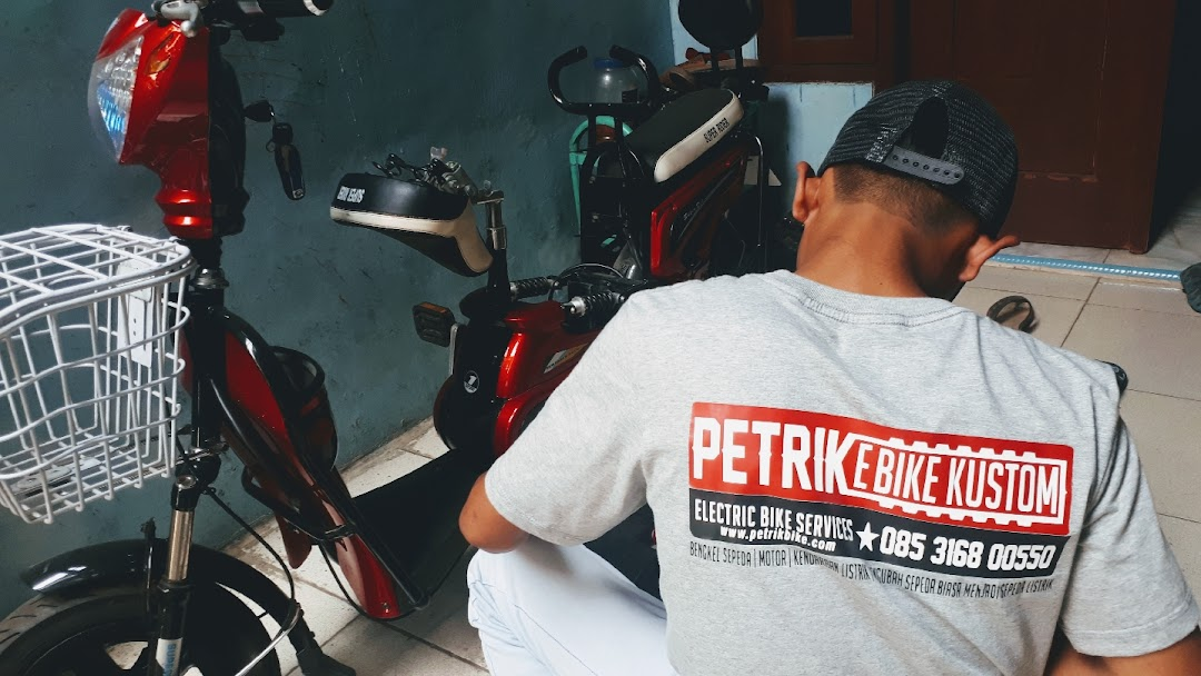 Bengkel Service Modif Sepeda Listrik Petrikbike Bengkel Motor Elektrik
