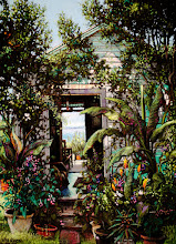 Photo: A Daniel Hauben pastel at the sanctuary.