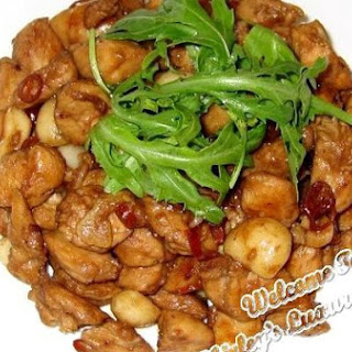 Tantalizing Kung Po Chicken With A Twist (宫堡鸡丁).