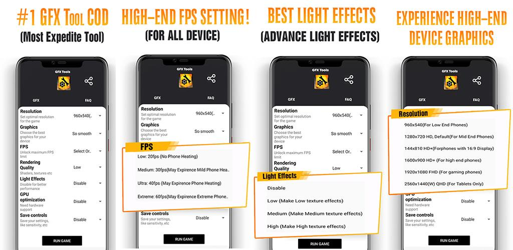 Download COD GFX+ Tool #1 GFX Tool (With Advance Settings) APK latest  version 1 0 for android devices