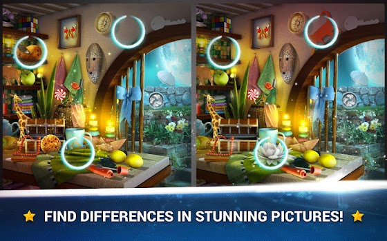 Find the Difference - Rooms