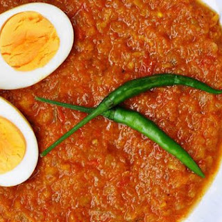 Boiled Egg Curry.