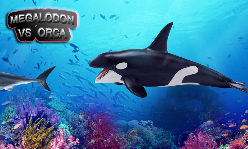 megalodon shark vs killer whale