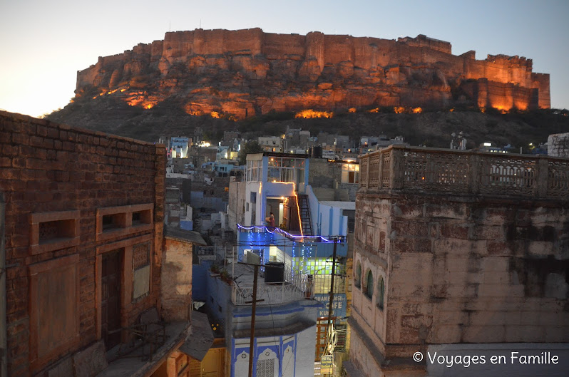 OM cafe, view from rooftop - Jodhpur